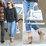 Kate Bosworth Isabel Marant Boots | Dec. 26, 2012