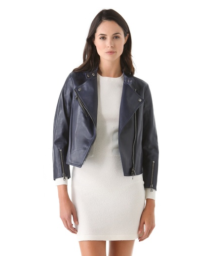 Get your hands on this 3.1 Phillip Lim Leather Moto Jacket ($598, originally $1,195) and wear it with everything from now through Spring.