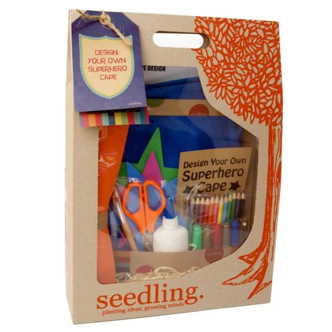 Seedling Design Your Own Superhero Cape Kit