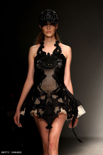KTZ Kokontozai London Fashion Week fashion show catwalk report Spring Summer 2013