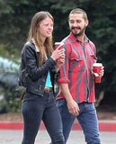 Shia LaBeouf Preps For the Holidays With New Love Mia Goth