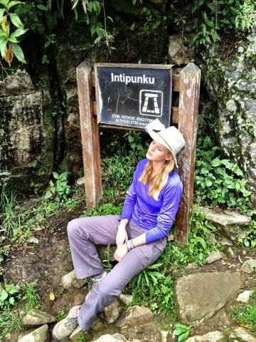 Anne V. went hiking in Peru. Source: Twitter user AnneV