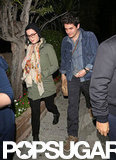 Katy Perry and John Mayer had dinner in LA.