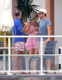 Ryan Seacrest and Julianne Hough Steal a Kiss in St. Barts