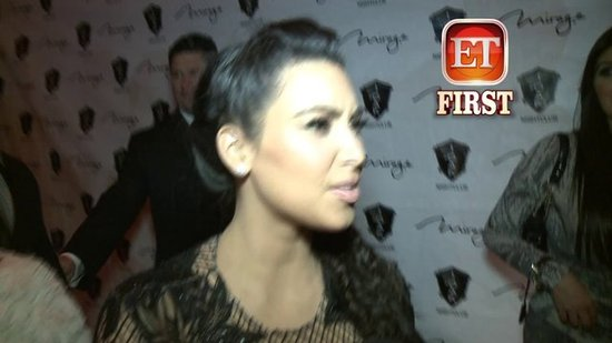"Video: Kim Kardashian Says Pregnancy is ""Hard"""