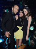 John Legend and Chrissy Teigen rung in 2013 at 1 Oak in Las Vegas.