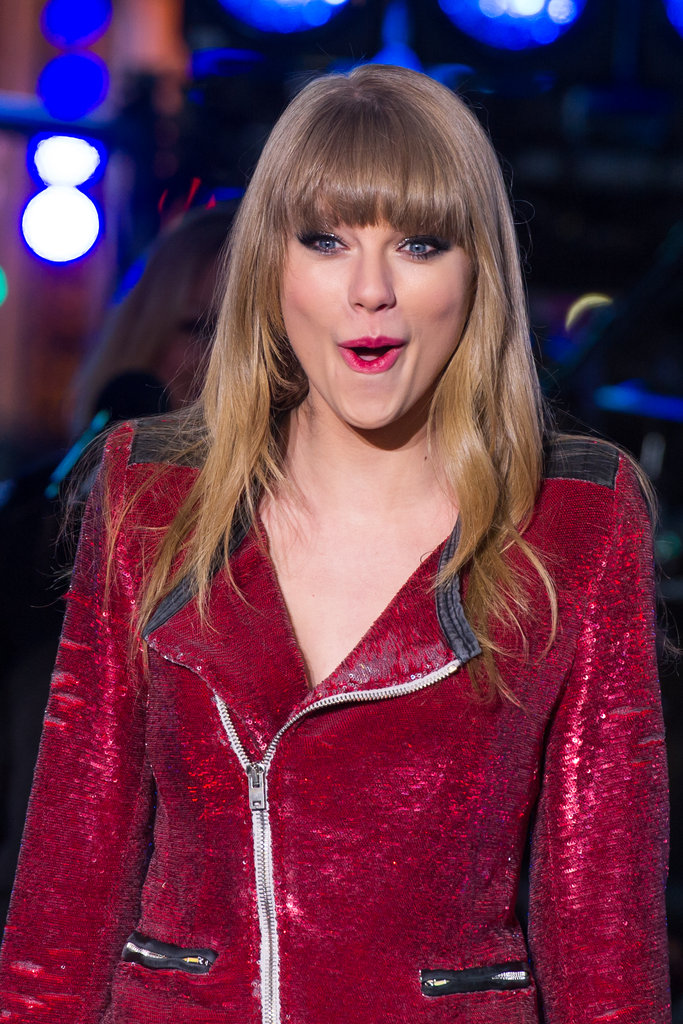 Taylor Swift and Harry Styles Hold Hands Post-New Year's Eve Kiss