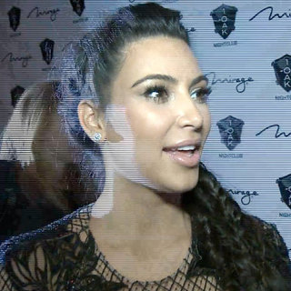 Kim Kardashian Interview Following Pregnancy News (Video)