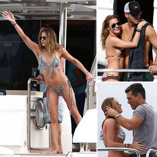 LeAnn Rimes Welcomes 2013 on a Yacht With Bikinis and PDA
