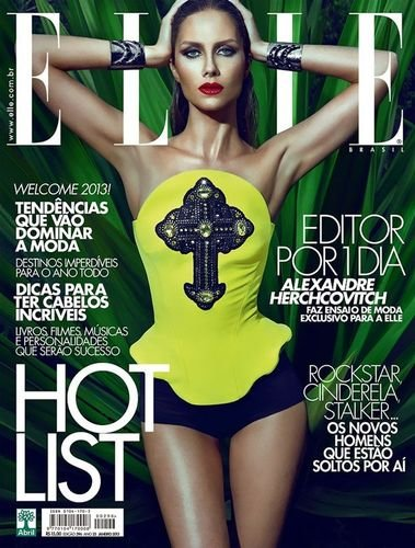 Elle Brasil January 2013 