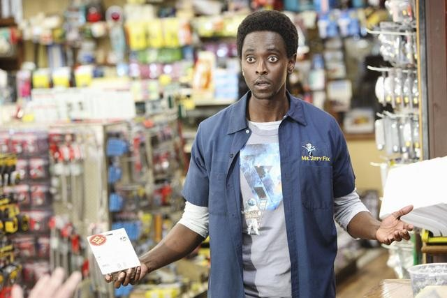 Edi Gathegi in Family Tools.