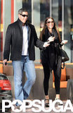 Sofia Vergara and her fiancé, Nick Loeb, walked around Miami before New Year's Eve.