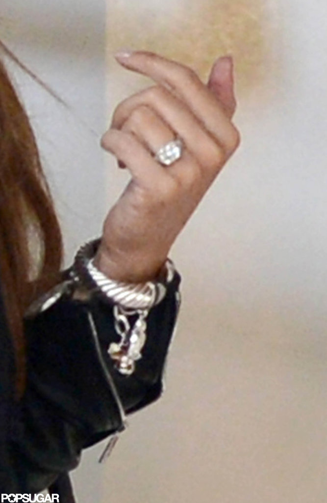 Sofia Vergara flashed her massive engagement ring.