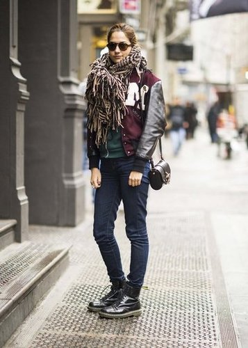 Warm your sporty wear with high-impact accessories. Source: Adam Katz Sinding