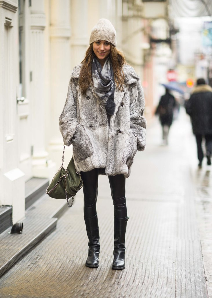 A luxe coat is the key to a foolproof Winter style. Source: Adam Katz Sinding