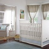 Chambray Penny Tile Crib Collection ($36-$115)
