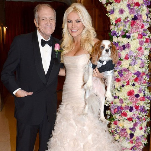 Wedding Pictures of Hugh Hefner Marrying Crystal Harris