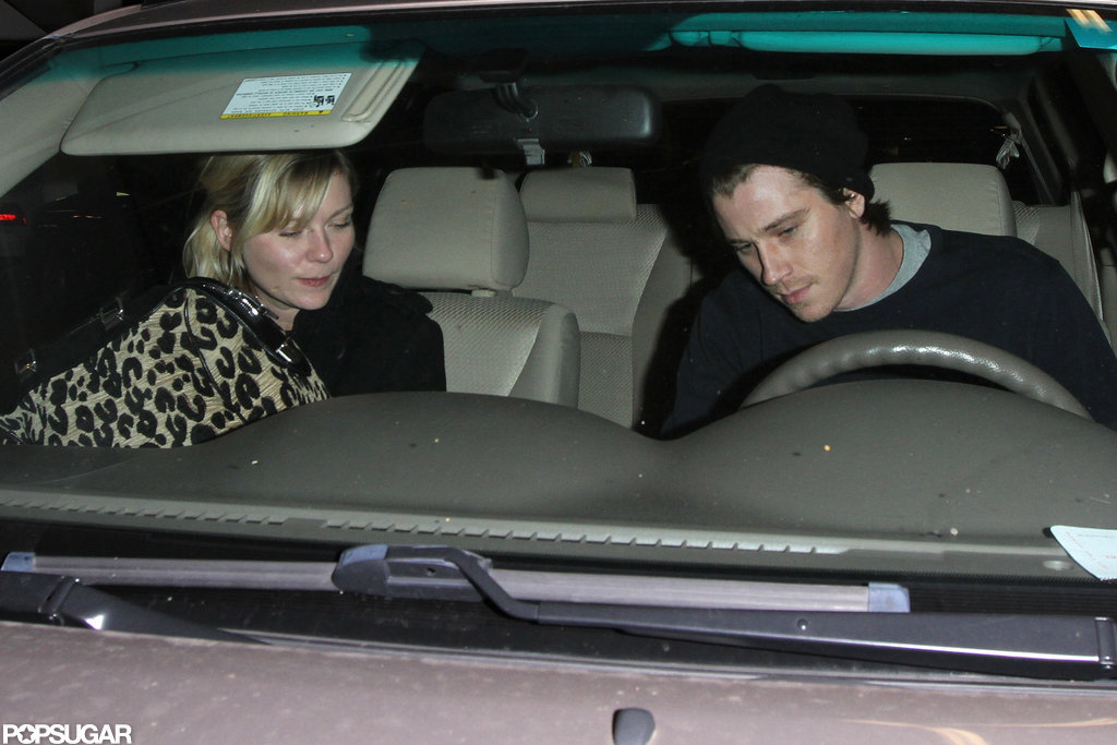 Garrett Hedlund and Kirsten Dunst went on a quiet date night in LA.