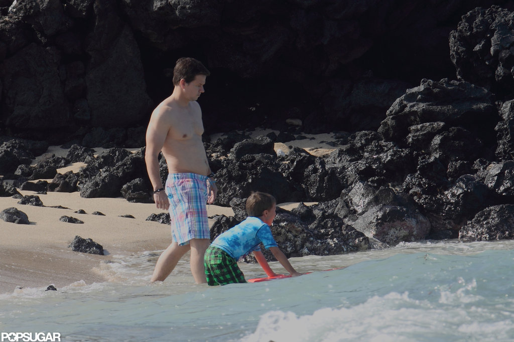 Mark Wahlberg took a vacation in Hawaii.
