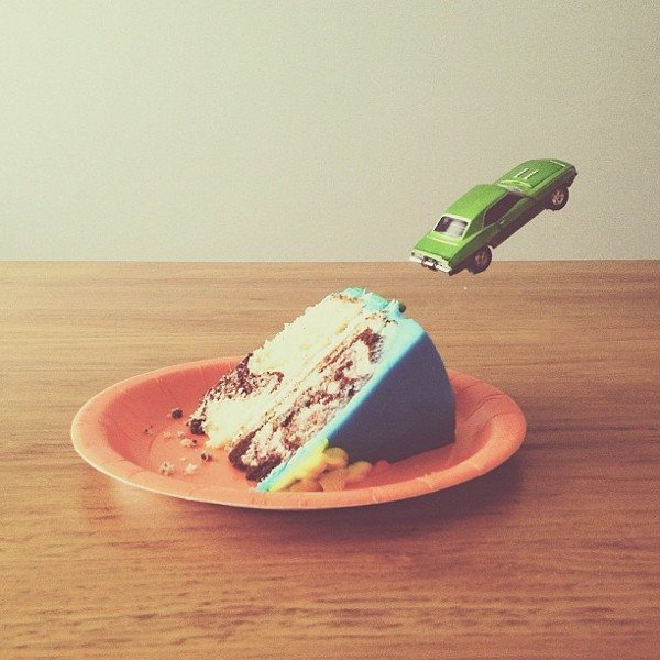 """Cake Ramp,"" 2012 Source: Instagram user brockdavis"