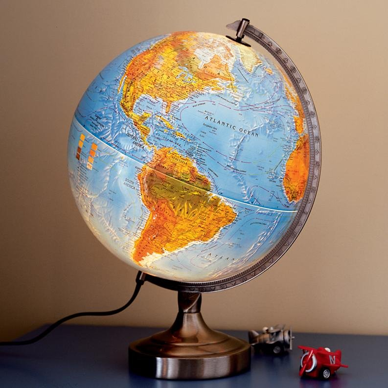 The Land of Nod Globe Lamp