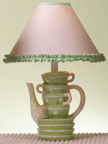 Posh Tots Stacked Cups Lamp
