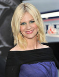 Starring as Emma Frost in X-Men: First Class, January walked the movie's red carpet premiere with tousled waves and a blue-and-green smoky eye. One thing's for sure: the actress loves to experiment with color.