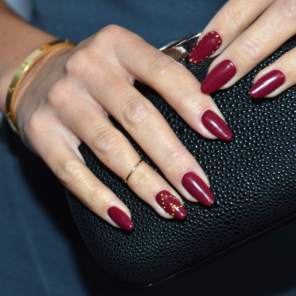 Displaying 18 gt images for red nails designs with diamonds