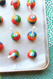 Inside-Out Rainbow Cake Pops