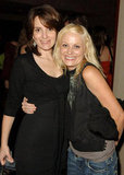 Amy hugged Tina for a picture during Entertainment Weekly magazine's pre-Emmys party in 2006.
