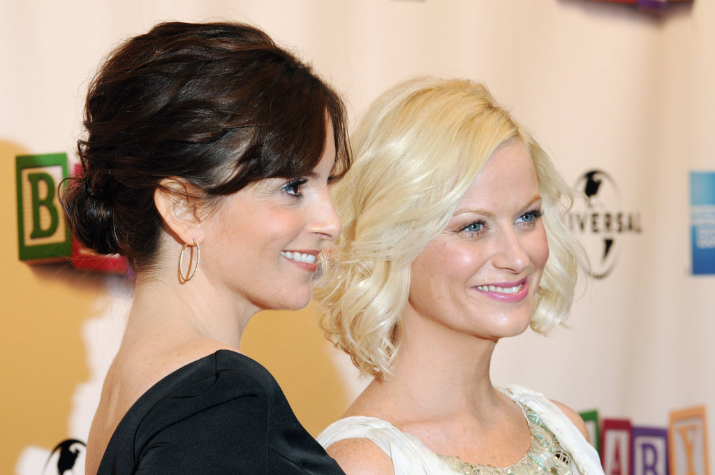 The ladies went all-out glam for the Tribeca Film Festival premiere of Baby Mama in April 2008.