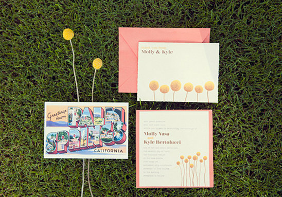 Postcard-Inspired Invitations