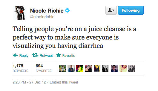 Nicole Richie makes a damn good point.