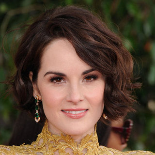 Michelle Dockery | Golden Globes Hair 2013