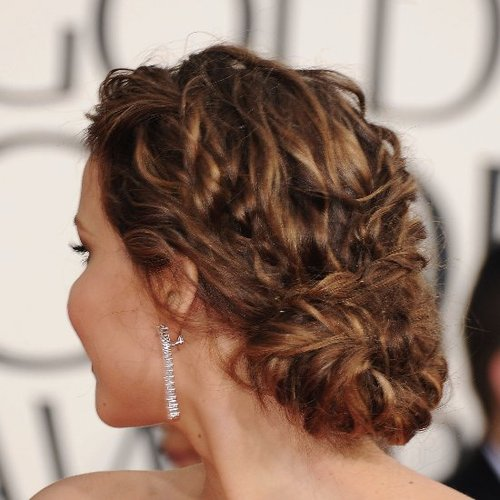 Jennifer Lawrence | Golden Globes Hair 2013