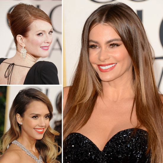Golden Globes Beauty: See the Top Red-Carpet Hair and Makeup Trends