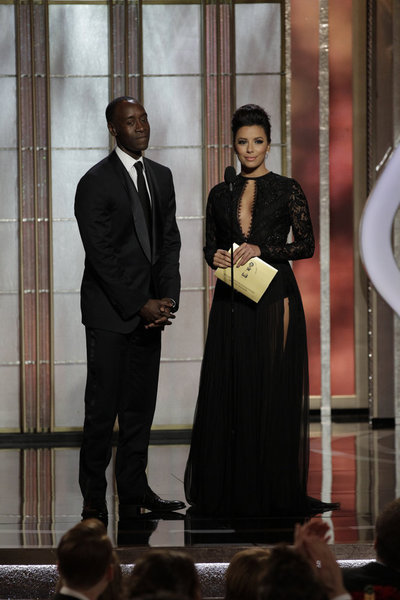 Don Cheadle and Eva Longoria