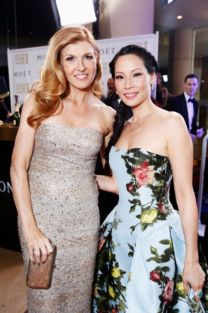 Connie Britton and Lucy Liu
