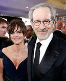 Sally Field and Steven Spielberg