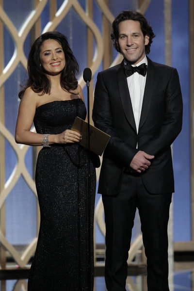 Salma Hayek and Paul Rudd