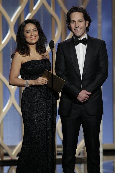 Salma Hayek and Paul Rudd