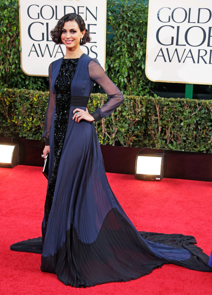 Morena Baccarin wore Valentino for the 70th Annual Golden Globe Awards.