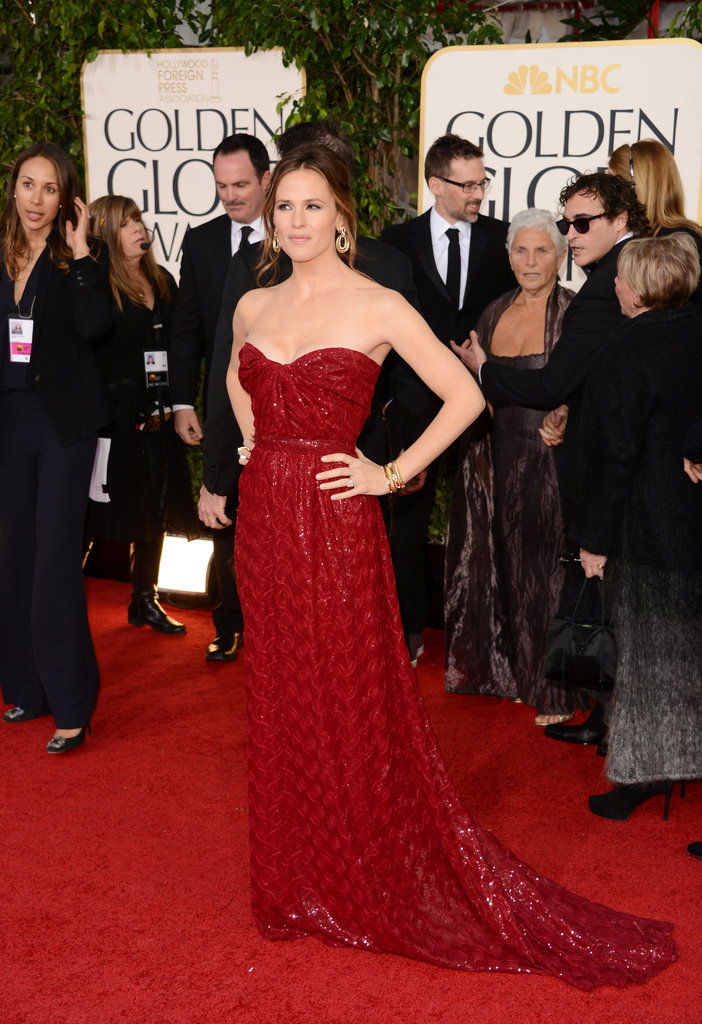 Jennifer Garner Glows at the Golden Globes
