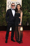 Daniel Craig and Rachel Weisz posed together at the Golden Globes.