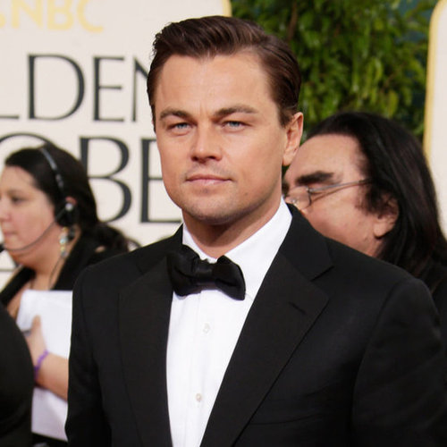 Leonardo DiCaprio at the Golden Globes 2013