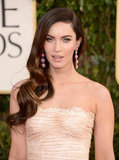 Megan Fox wore a sexy Dolce & Gabbana dress.