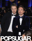 Dax Shepard and Robert Downey Jr.