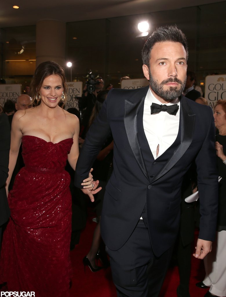 Ben Affleck was hand-in-hand all night with his wife and biggest supporter.