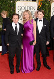 Tracy Pollan, Michael J. Fox, Sam Fox