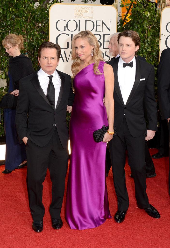 Tracy Pollan, Michael J. Fox, Sam Fox